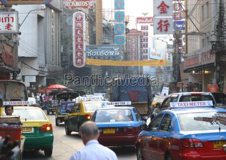 ruch drogowy transport ruch uliczny bangkok