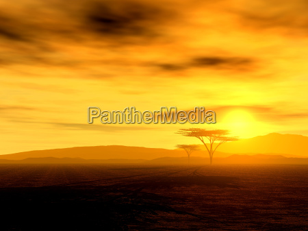 afrykanski duch szerokosc