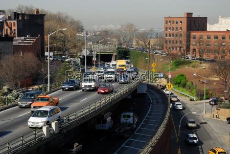 ruch drogowy transport ameryka akumulacji samochodow
