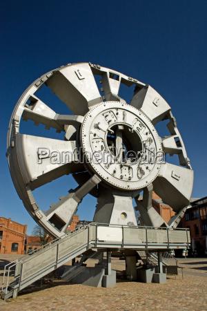 tunel muzeum hamburg wiertlo wiertarka schildvortriebsmaschine