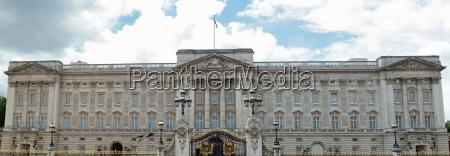 londyn anglia bandera krolowa palac buckingham