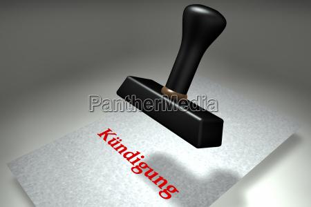 umowa o prace zatrudnienia zwolnienia kuendigung