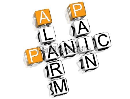 krzyzowka panic