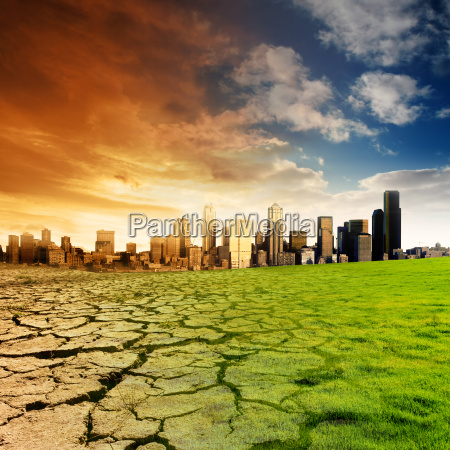 miasto grod town przyroda srodowisko przyszlosc