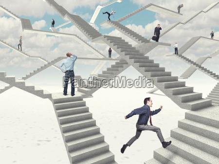schody pracy