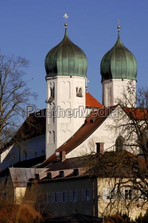 wieza kosciol kultura bayern bawaria modlitwy
