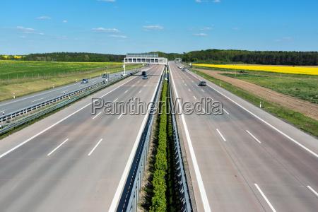 asfalt autostrada transport drogowy droga szybkiego