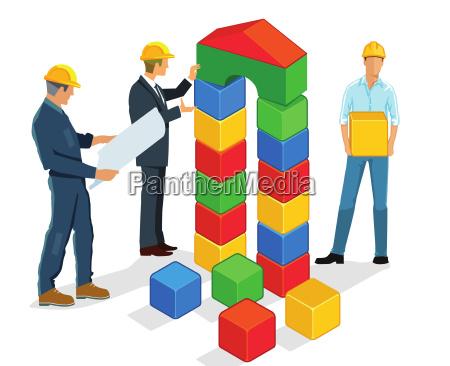 planowanie i budowanie z baukloetzer