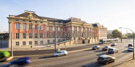 niemcypoczdamlandtag brandenburgii dawniej palac miejski