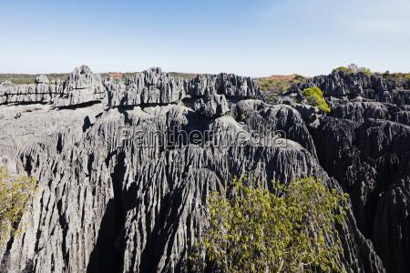 wielkie tsingytsingy du bemaraha parku narodowegowpisanego
