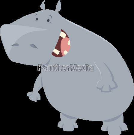 hipopotam kreskowka charakter