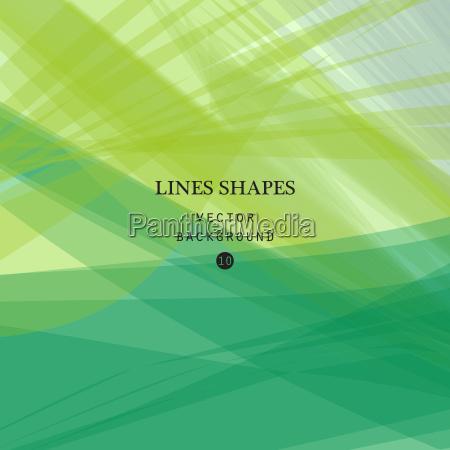 streszczenie zielone tlo wektorzielone przezroczyste linie