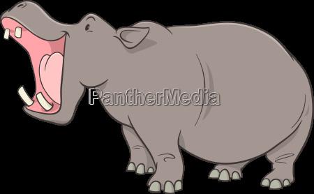 hipopotam postac z kreskowek
