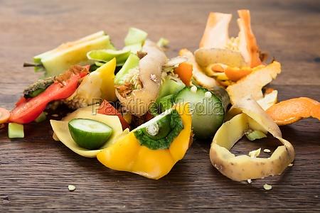 peelingow warzyw i owocow w tabeli